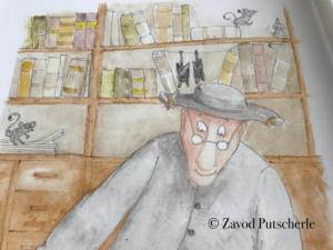 Čebelarske domislice Jurija Jonkeja, otroška slikanica, Anja Moric, Zavod Putscherle